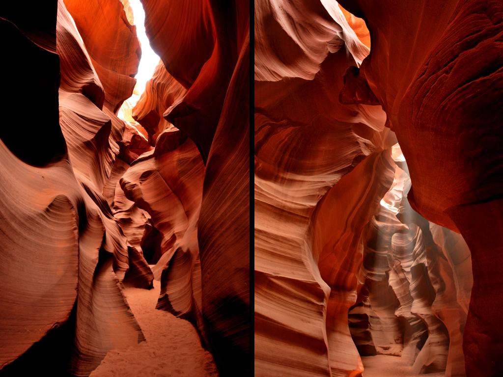 アンテロープキャニオン(ロウアー) Lower Antelope Canyon