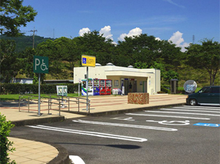 小城パーキングエリア(上り)