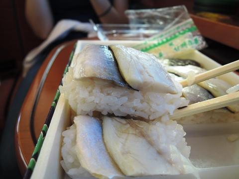 小鯵押寿司10