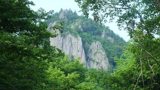 丸瀬布ねじり滝 (2)