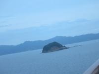 軍艦島と間違えた小島