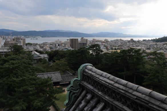 松江城天守ーS