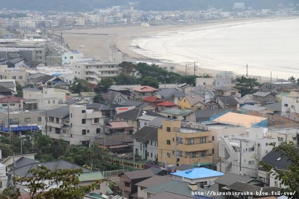 由比ガ浜と江ノ電ーSN