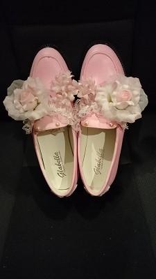 ピンクの靴3