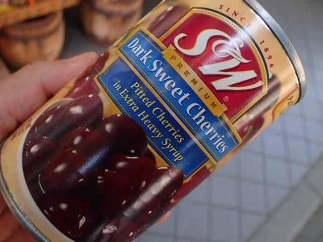 ダークチェリー缶 (1)