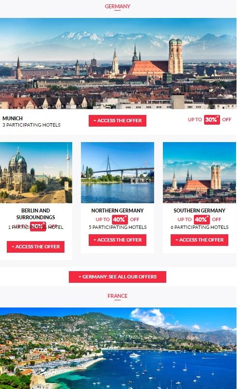ル・クラブ・アコーホテルズ ヨーロッパ&オーストラリア プライベートセール最大40%OFF