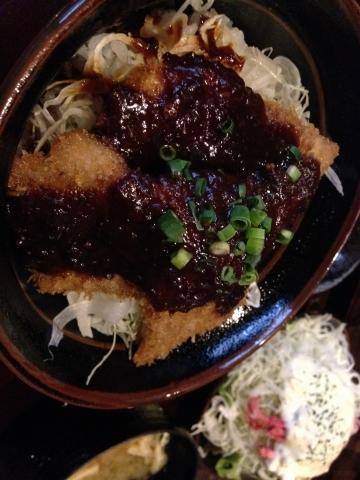 たれ味噌カツ丼