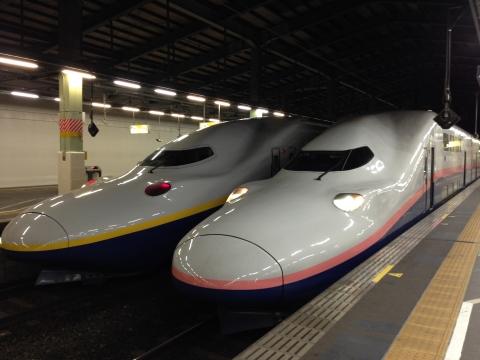 新幹線とき