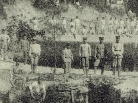 吉根砲兵陣地進入路リラックス