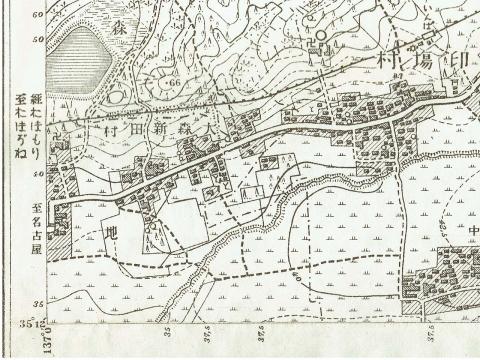明治24年地形図