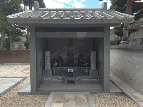 法輪寺佐藤兄弟の墓現在