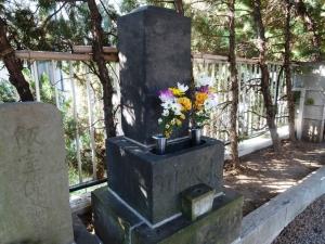 長谷川家の墓