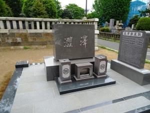 渋沢家の墓