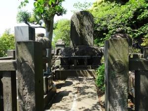 出羽海の墓