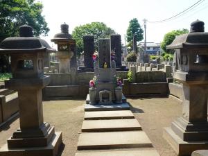 花柳家の墓