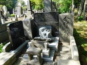 今村清之助の墓
