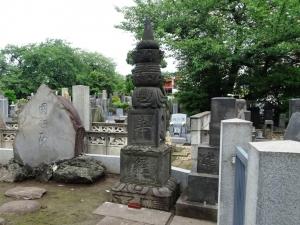 三遊派の碑