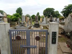 三遊亭圓遊の墓所