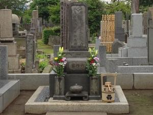 若柳吉蔵の墓