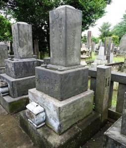 二代目・清水喜之助の墓