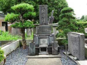 栃木山の墓