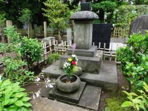 初代式守伊之助の墓