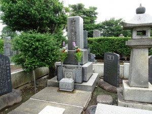 常の花の墓