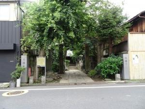 大雄寺入口