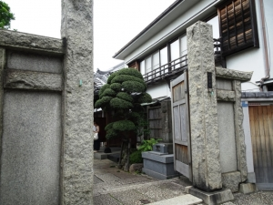 長安寺入口