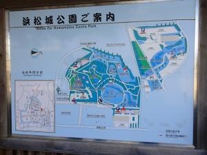 浜松城公園案内図