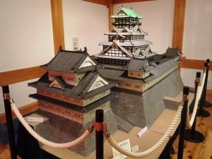 駿府城の模型