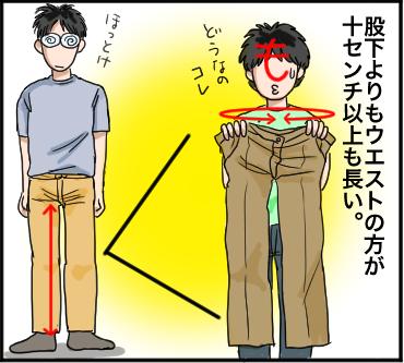 体の長さ4