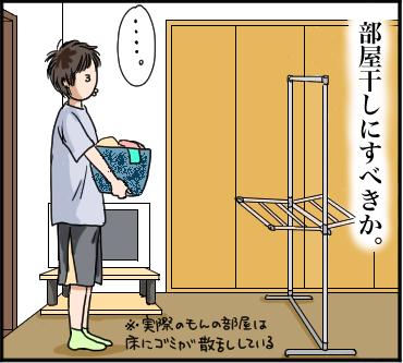部屋干し臭VS堆肥臭1