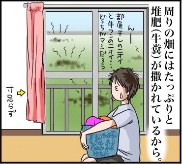 部屋干し臭VS堆肥臭4