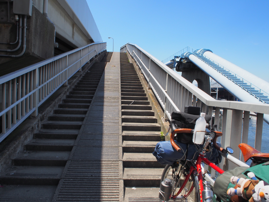20160707 自転車お遍路橋