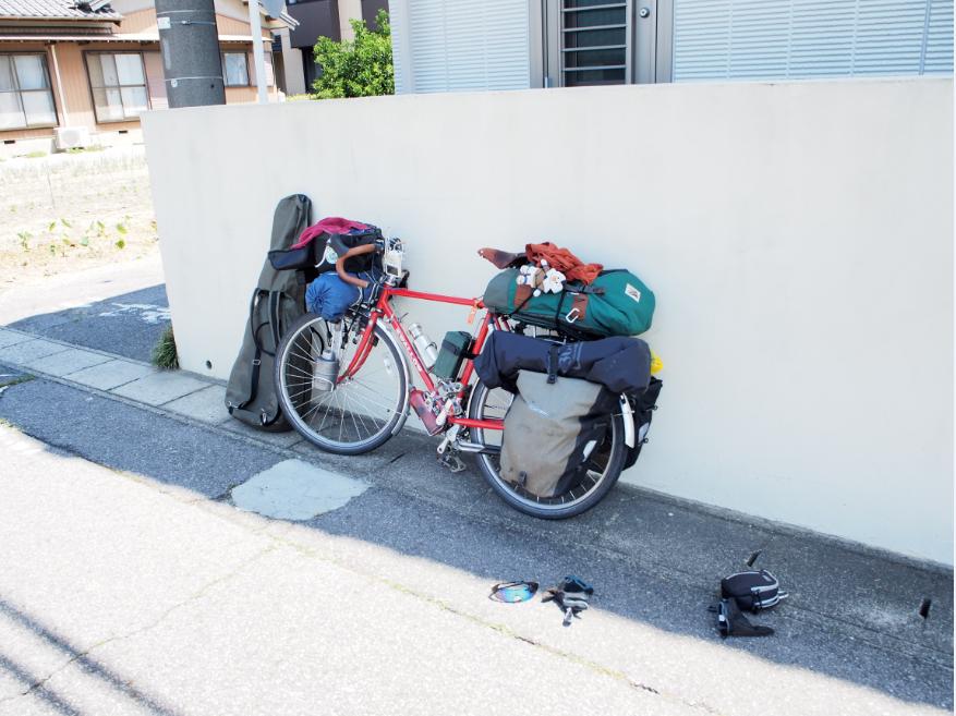 20160708 自転車四国お遍路休憩