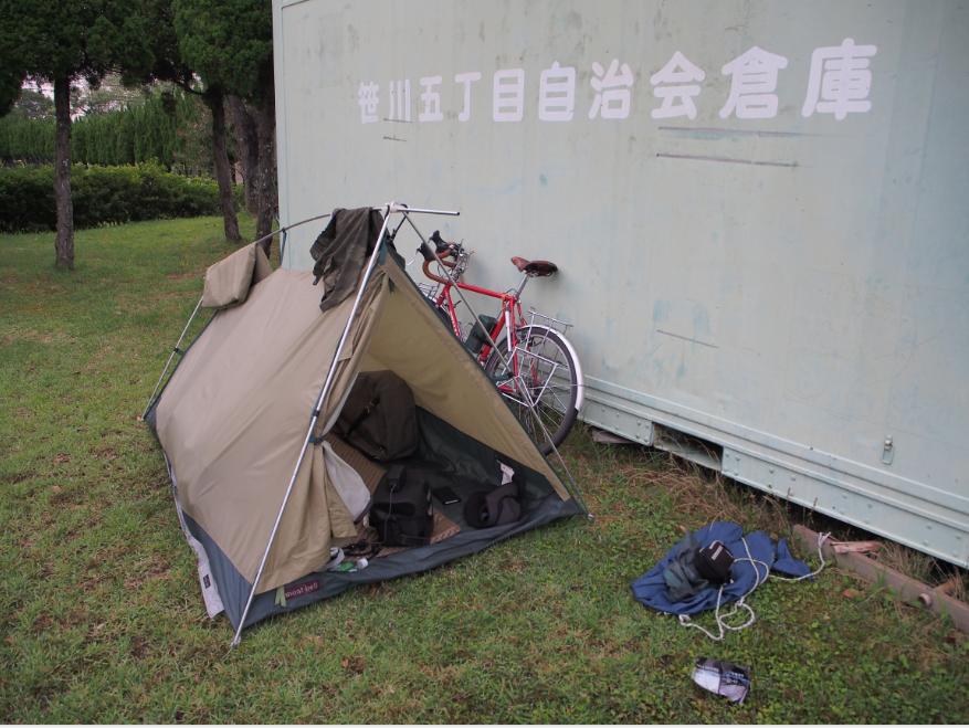 20160708 自転車野宿