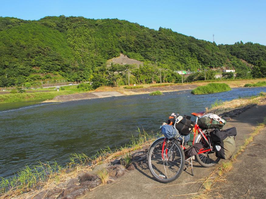 20160727 自転車風呂