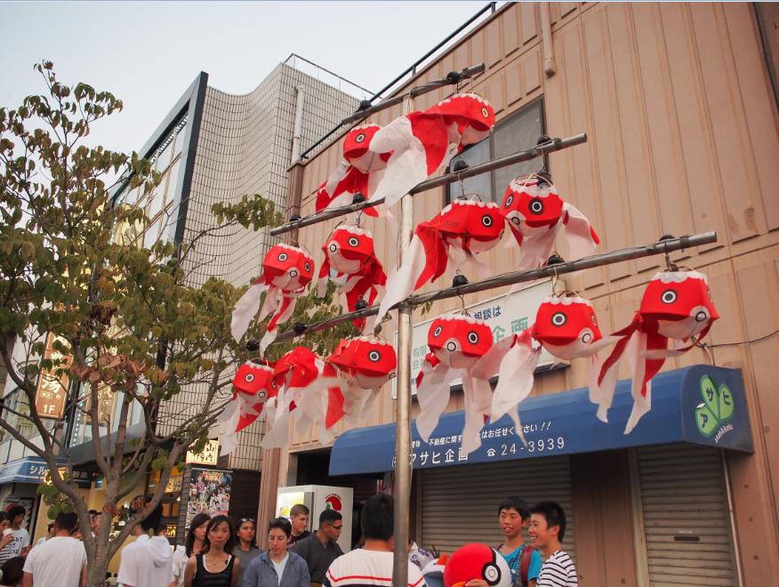 20160813 金魚ちょうちん祭り2