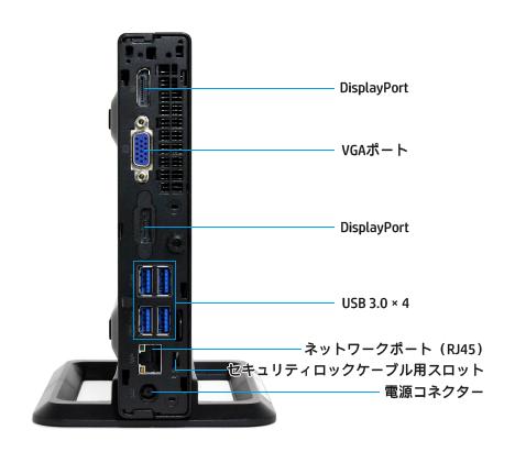 EliteDisk 800 G2_背面インターフェース