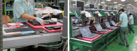 日本HPの工場見学会
