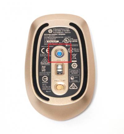 HP Z5000 Bluetooth マウス_IMG_2612_コネクト
