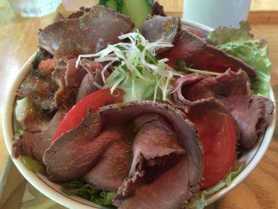 ローストビーフ丼_1