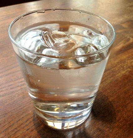 水道水つまりウオーター