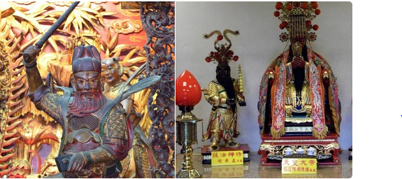 天皇は中国の神話 架空の人物