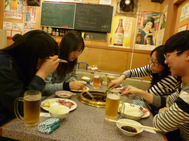 徳島文理大学 韓国の留学生