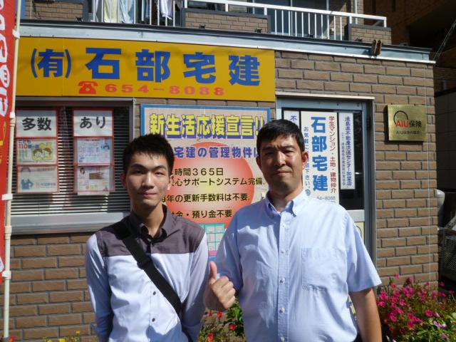 徳島文理大学に留学する台湾の留学生