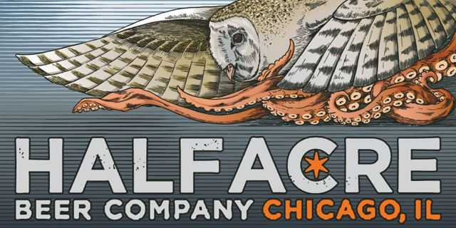 Half Acre logo 梟