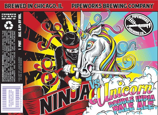 Ninja VS Unicorn