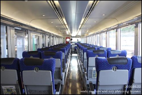 磐越東線新緑号お見送り (2)